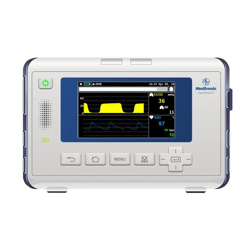 écran d'apparence Medtronic Capnostream™ 35 pour REALITi360, 8000973, Simulateurs de monitorage patient