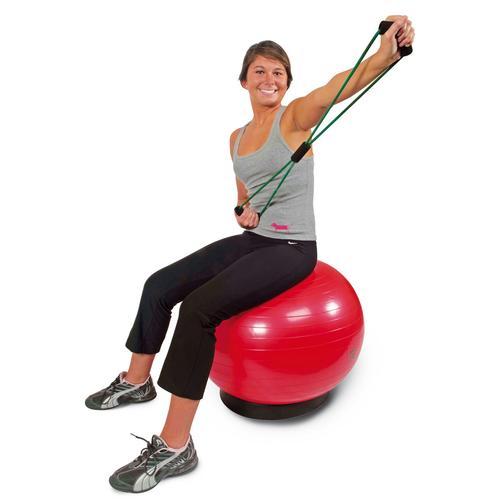 3B Scientific Ballon Gym Cando Antiburst Rouge 75 cm