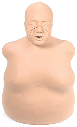 "Mannequin d'exercice corpulent ""Fat Old Fred Manikin"", 1005685 [W44233], Réanimation adulte"