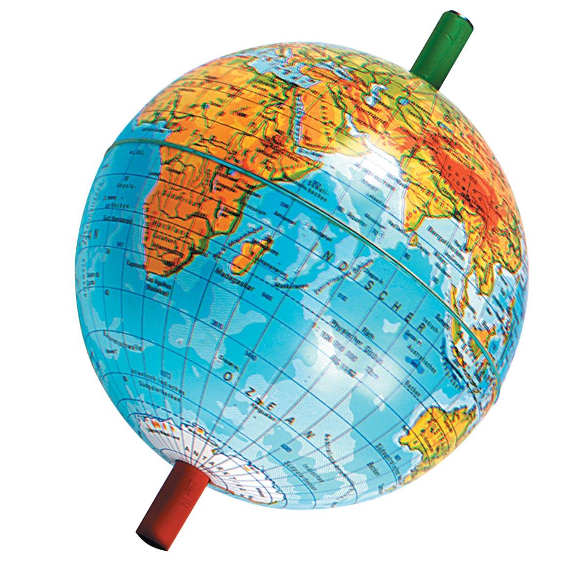 globe avec aimant droit champ magn tique 3b scientific. Black Bedroom Furniture Sets. Home Design Ideas