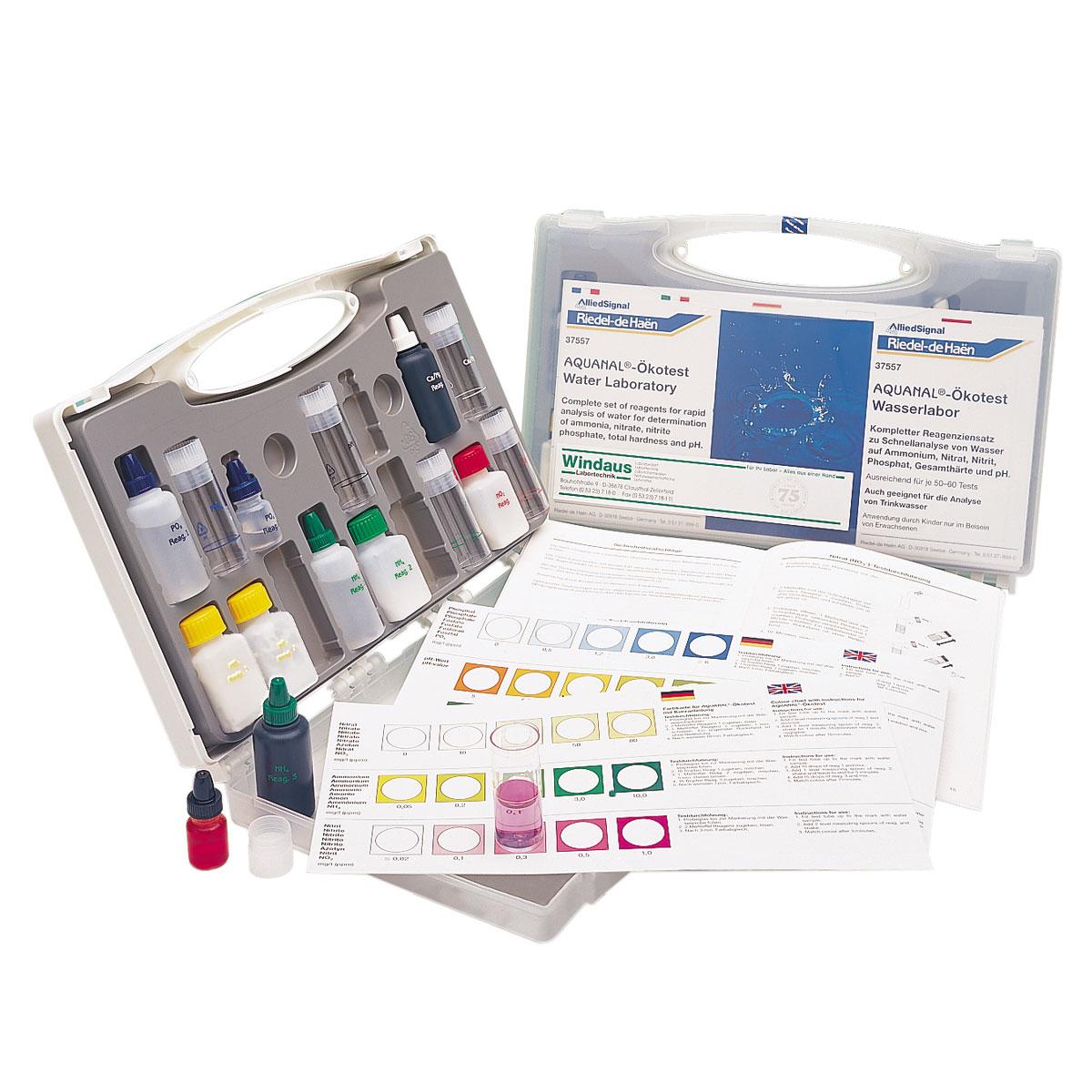 test cologique laboratoire d 39 analyse d 39 eau 1003785 w11710 kits sciences de l. Black Bedroom Furniture Sets. Home Design Ideas