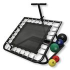 W40185: Adjustable Rectangular Rebounder with Medicine Ball Set