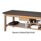 W42704: Hausmann Ind. Treatment Table w/ Drawer and Storage Shelf