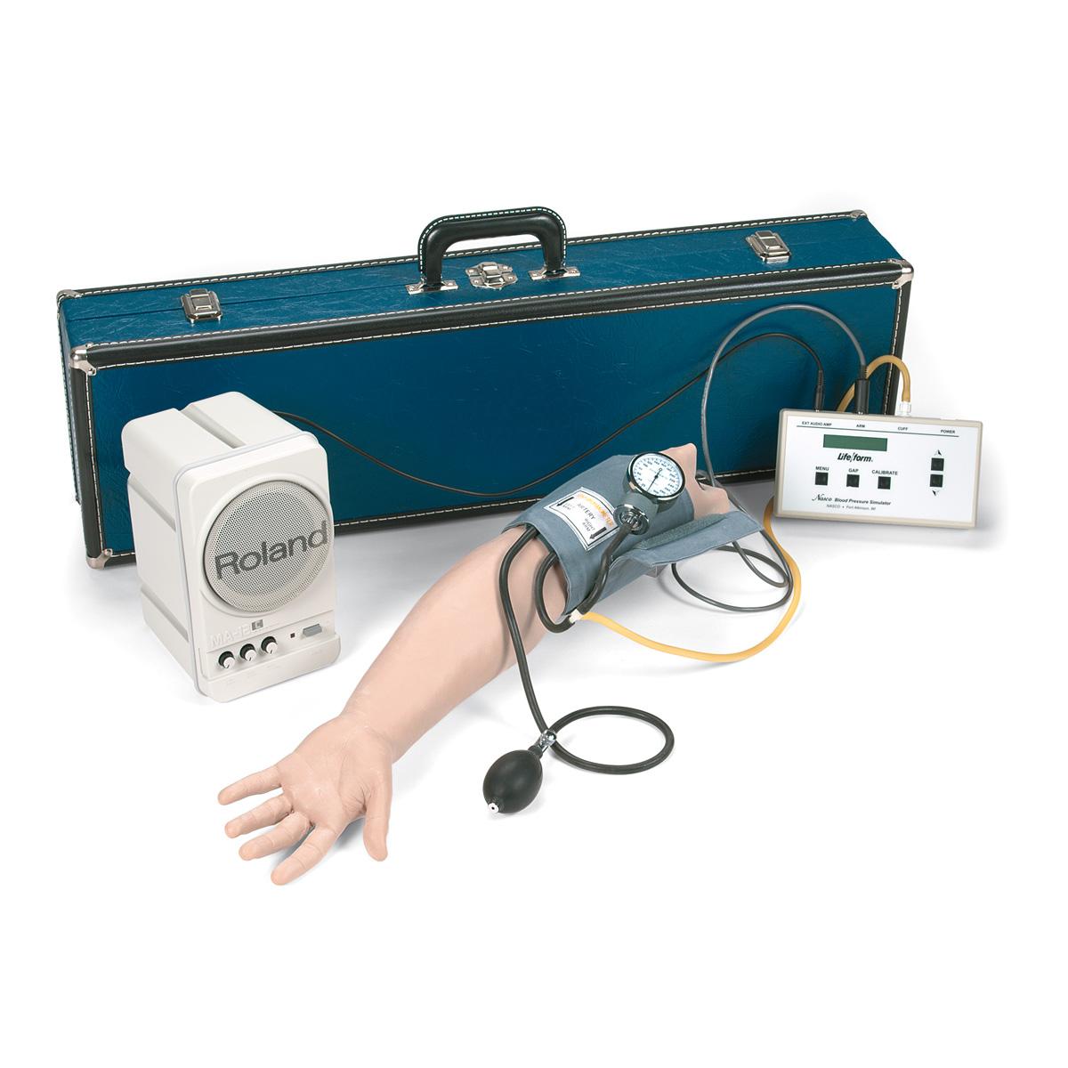 Bras pour tension artérielle, avec système de haut-parleur..