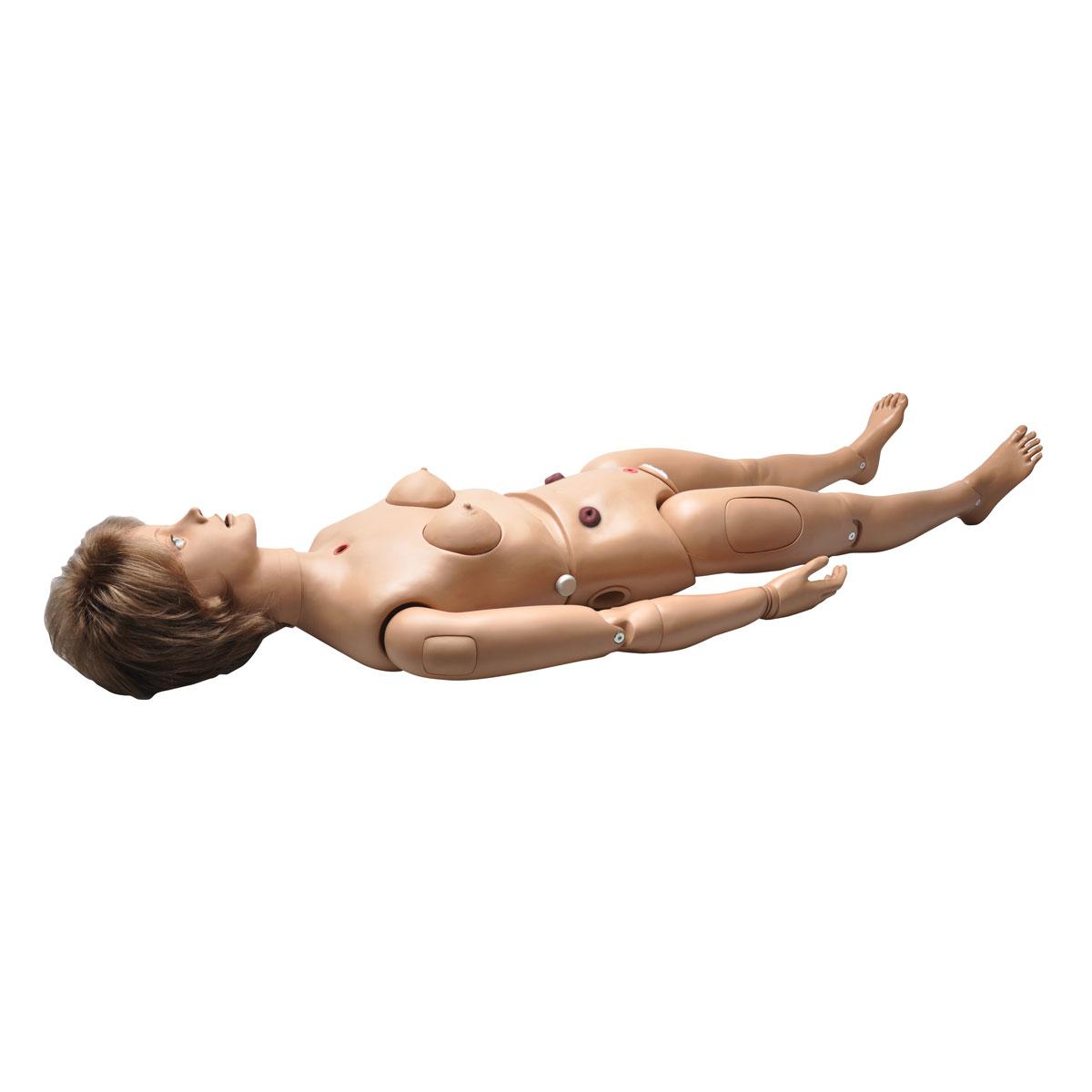 simulateur de soins aux patients clinical chloe avec stomates model es 1017542 w45052 s221. Black Bedroom Furniture Sets. Home Design Ideas