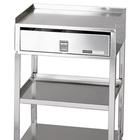 W50660: MB-TD Stainless Steel Cart with Drawer