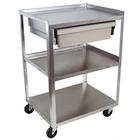 W56108ED: 3 Shelf Cart with Economy Drawer