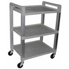 W56110: Three Shelf Poly Cart