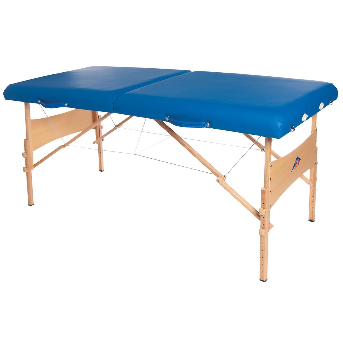 Table de massage pliante, kinésithérapie, ostéopathie  ~ Table Massage Bois