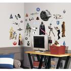 W64801: Classic Star Wars Peel & Stick Wall Decals
